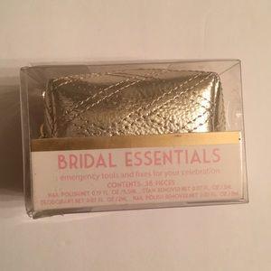 Bridal essentials kit gold